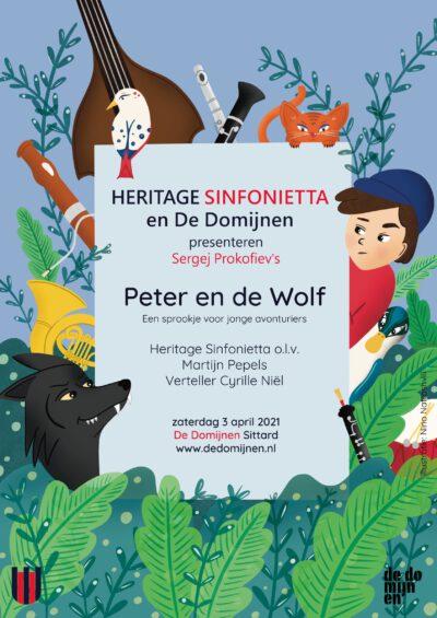 Heritage Sinfonietta speelt Peter en de Wolf